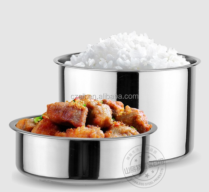 Keep Food Warmer ~ Stainless steel double wall keep warm food carrier vuaccum