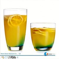 Sanzo Custom Glassware Manufacturer 15cl tempered drinking glass