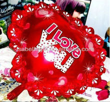 romantic colorful heart shape foil ballon for love