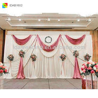 shimmer backdrop curtains use in wedding for sale