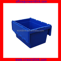 50kgs Moving Stackable Plastic Packaging Crates with Lids