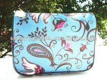 Classical full color print oxford fabric makeup case