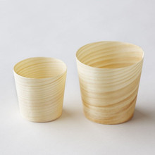 Factory Directly Home&Garden Supplier Disposable Mini Tableware Wooden Cups