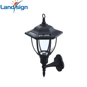 XLTD-249C cixi landsign hot sale outdoor solar led light gardeners eden home solar systems solar wall light