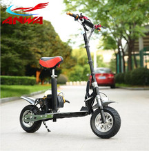 2 stroke gas standing scooter/50cc gas cooler scooter
