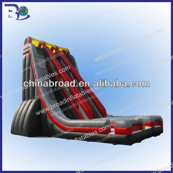 Kids and adults funny and cheap outdoor slide 2012 new wonderful inflatable slide products