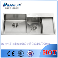 DS9645 Kitchen sink modern & elegant style house decarating idea OEM For Teka