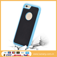 High end anti - gravity strong sticker nano tech attachment cell phone case for iphone