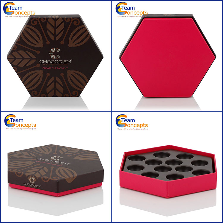 Hotsale Supply Custom Chocolate Paper Packaging Box