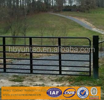 Durable Galvanised Weld Mesh Farm Gates For Australia-Professional Maufacturer And Experienced
