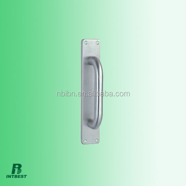 sliding door glass door 220mm height 19 mm diameter circular tube SUS304 door pull handle