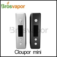 2014 Electronic cigarette vapor mod original style accept Paypal Cloupor Mini 30Watt