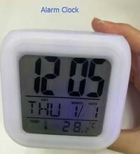New Arrivals 7 Colors Changing Table LED Digital Alarm Clock for Kids