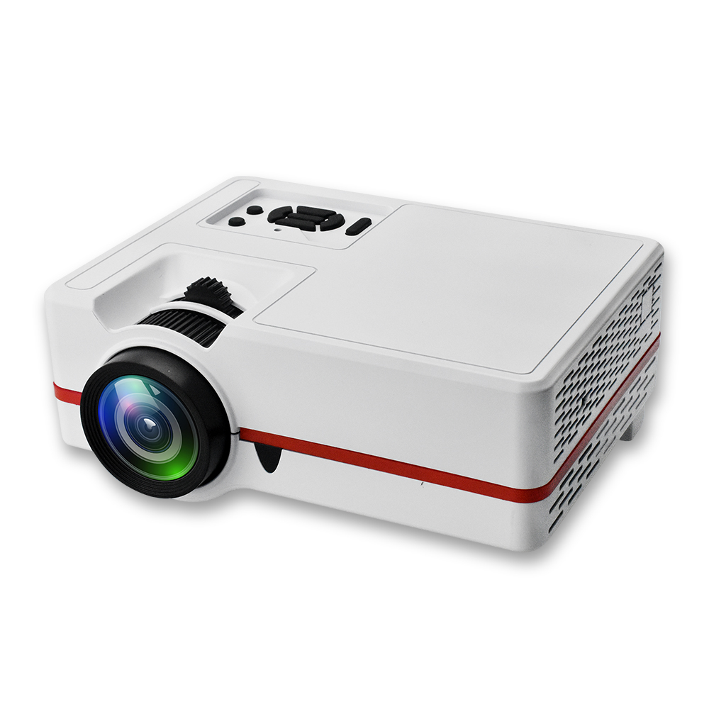 Home theater projector 800 *480, support 1080P smart mini projector with LED 60W, 30,000 hours life