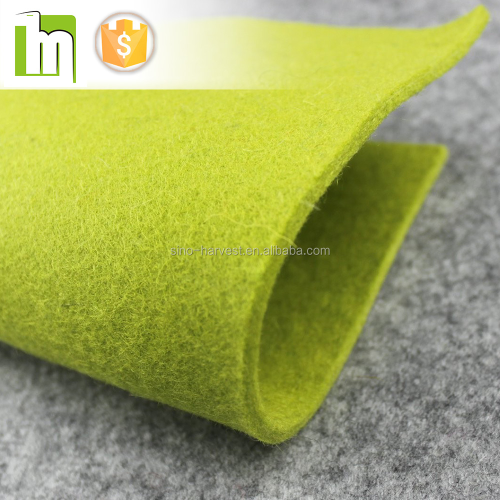 3mm thick color felt in china