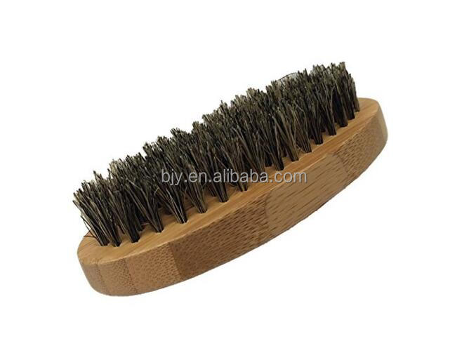 Alibaba New Produce Boar Bristles Beard Brush With Bamboo or Wood