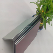 4mm PVDF aluminum plastic composite sheet panel material cladding ACP FOR external wall