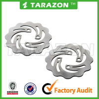 Stainless steel ATV Front Brake Disc Rotor For SUZUKI LT R QUADRACER 450cc 500cc