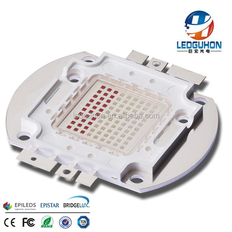 CE certification high power 90w rgb led chip for floodlight use