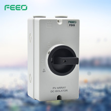 IP66 CE 16A 1000V 4 Poles DC Solar Energy Isolator Switch