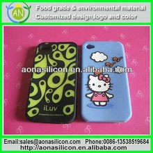 Silk Printing Silicone Case Gel Cover Jelly Bumper Rubber Skin