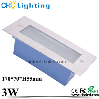 Recessed outdoor ip67 3w 12 volt led step light led stair ladder recessed outdoor ip67 3w 12 volt led step light led stair ladder deck lamp aloadofball Image collections