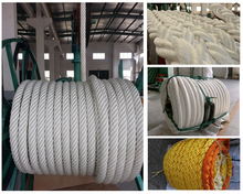 China cheap new design High Tensile Vessel Mooring Rope/ Ship Mooring Line for sale