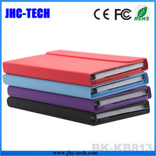 5.4mm Thickness Universal Protective PU Leather Case ABS Bluetooth Tablet Keyboard for Ipad MIni