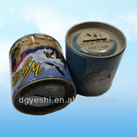 Tin Coin Bank/Money Bank/Tin Saving Bank With Lid