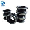 Anti vibration stainless steel flange type flexible rubber expansion joint