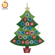 Felt Christmas Tree Printed Advent Calendar