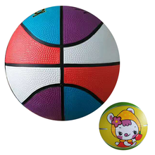 2017 Cheap Price Official Size 7 Custom Printed Rubber Ball Basketball