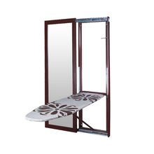 Sliding door wall mounted ironing board with mirror SRI-07