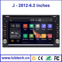 Pure android 4.2.2 system GPS Car dvd Navigation radio+dvd+gps+mp3+wifi+bluetooth for 2 Din
