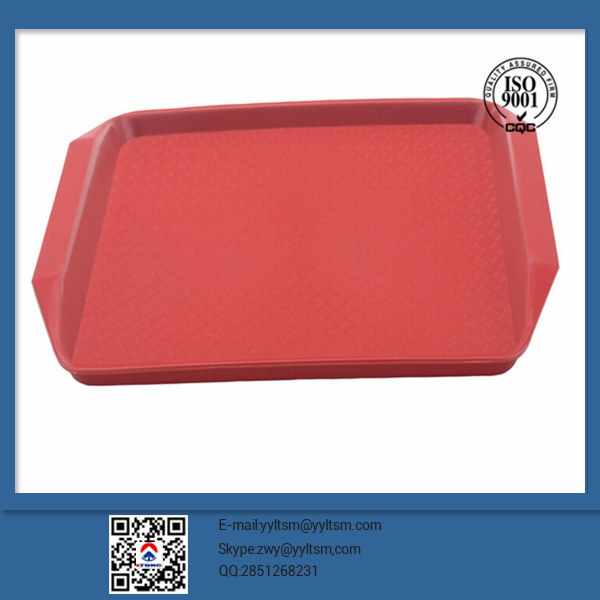 Hot China products wholesale Plastic Serving Trays / thermoforming customize plastic round pallet for service