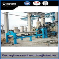 Machine For Making Concrete Pipe / Rcc Pipe Manufacturing Plant