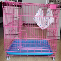 three-layer cat cage/pet supplies store new design cat ferret cages sale