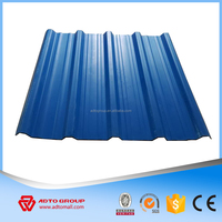 Hot sale Building Materials UPVC / PVC Trapezoidal roof tiles