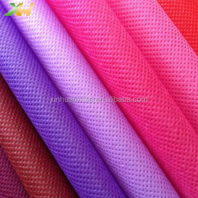 Vivid Colorful Hot Selling 100% PP Polypropylene Spunbond Embossed Non Woven Fabric