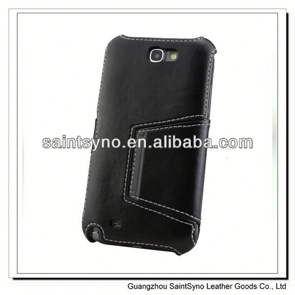 13036A Steady hot selling flip mobile phone case for samsung galaxy note 2 n7100