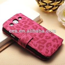 ANIMAL PRINT For Samsung S3 Cover Cell Phone LEATHER Case