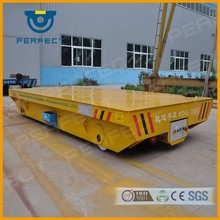 Bay-to-bay rail transfer carts with customized dimension