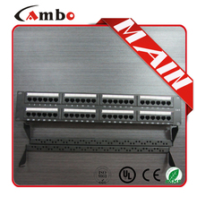Good price &soonest delivery Cat5e/cat6 with jacks 24/48 Best Price 1u ethernet patch panel wall mount