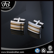 Hot sell 316L steel customized cufflinks for men fashion cuff link