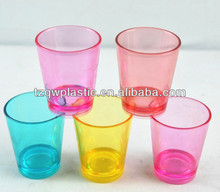 2015 high quality 2oz plastic shot glass for promotion