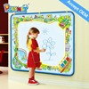 HX2813 big size hot magic doodle mats water pen drawing mat for kids drawing mat