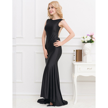 New design big girls evening party dress formal evening dress beautiful