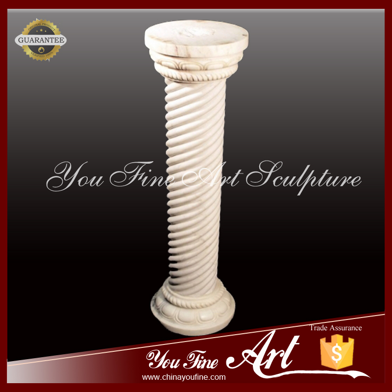Hand Carved Indoor Decoration Marble Column
