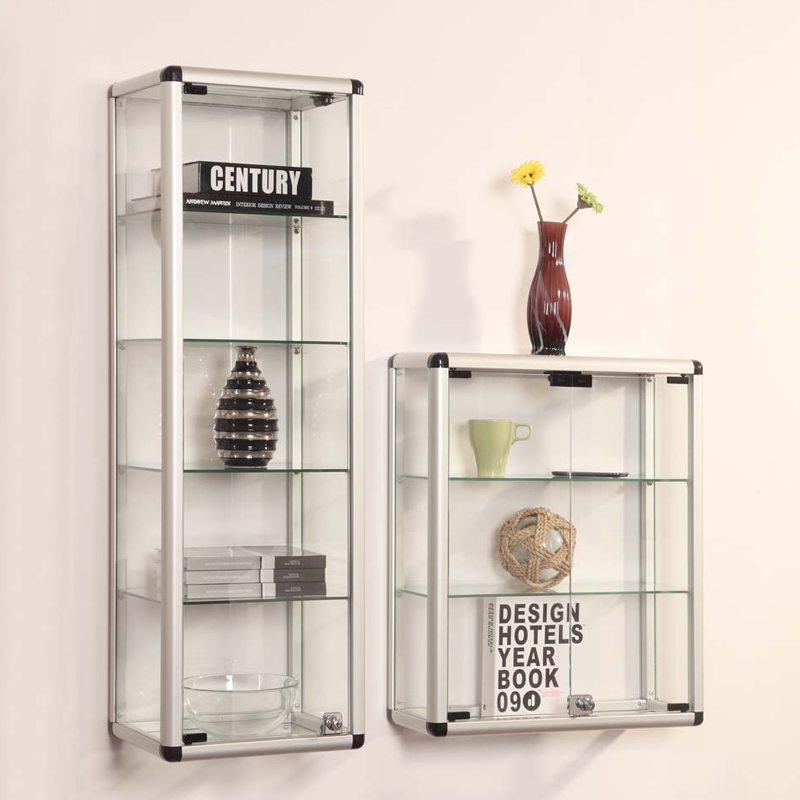 Beauty Products Wrought Iron Book Aluminium Showroom Stainless Steel Jewelry Display Stand Cabinet Wall Shelf Kitchen Wine Rack