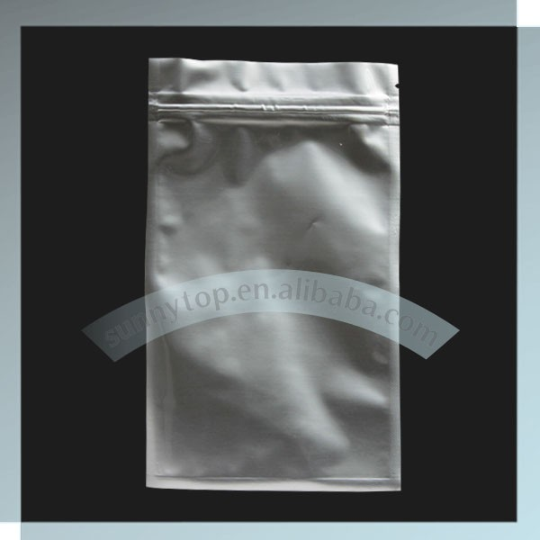 silver aluminum foil Vacuum bag heat sealable